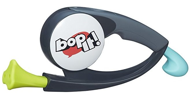 Normally $20, Bop It! is 50 percent off today (Photo via Amazon)