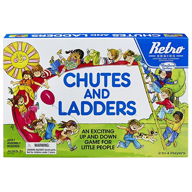 Normally $20, Chutes and Ladders is 45 percent off today (Photo via Amazon)