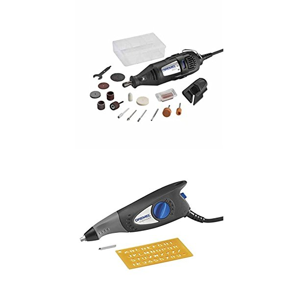 $75 if purchased separately, this rotary toolkit and engraver bundle is 40 percent off if bought together (Photo via Amazon)