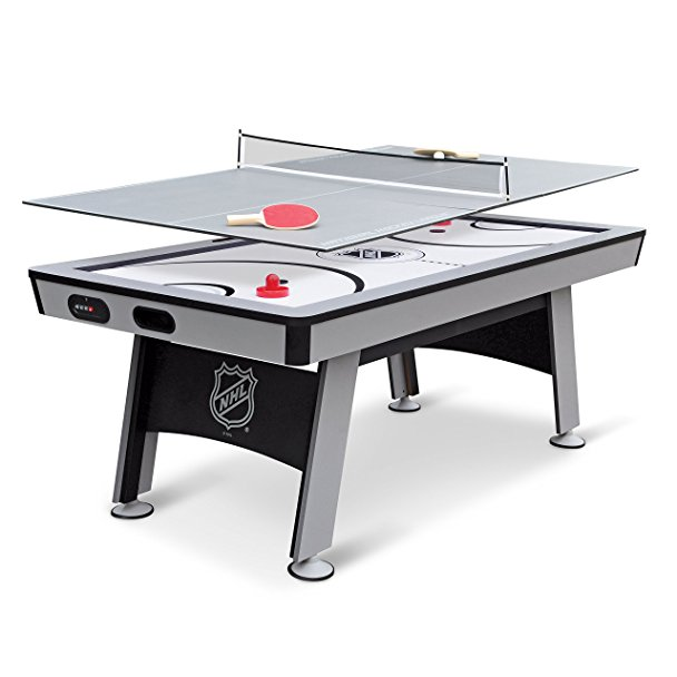 Normally $480, this air hockey + table tennis is 38 percent off today (Photo via Amazon)