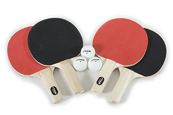 Normally $25, this table tennis set is 60 percent off today (Photo via Amazon)