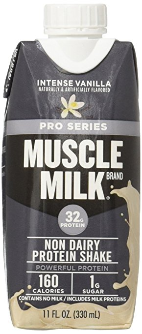 Normally $28, this 12-pack of Muscle Milk is 40 percent off today (Photo via Amazon)