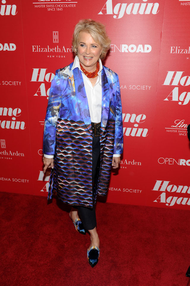 """NEW YORK, NY - SEPTEMBER 06: Candice Bergen attends a screening of Open Road Films' """"Home Again"""" hosted by The Cinema Society & Lindt Chocolate on September 6, 2017 in New York City. (Photo by Craig Barritt/Getty Images for Lindt)"""
