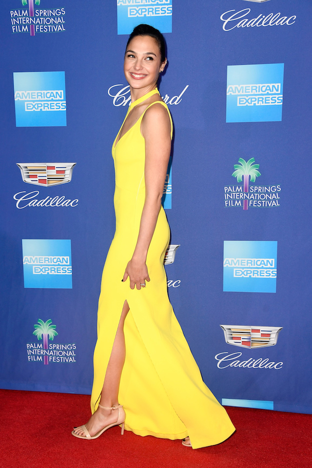 PALM SPRINGS, CA - JANUARY 02: Gal Gadot attends the 29th Annual Palm Springs International Film Festival Awards Gala at Palm Springs Convention Center on January 2, 2018 in Palm Springs, California. (Photo by Frazer Harrison/Getty Images for Palm Springs International Film Festival )