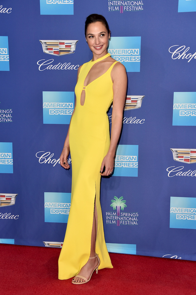PALM SPRINGS, CA - JANUARY 02: Gal Gadot attends the 29th Annual Palm Springs International Film Festival Awards Gala at Palm Springs Convention Center on January 2, 2018 in Palm Springs, California. (Photo by Alberto E. Rodriguez/Getty Images)