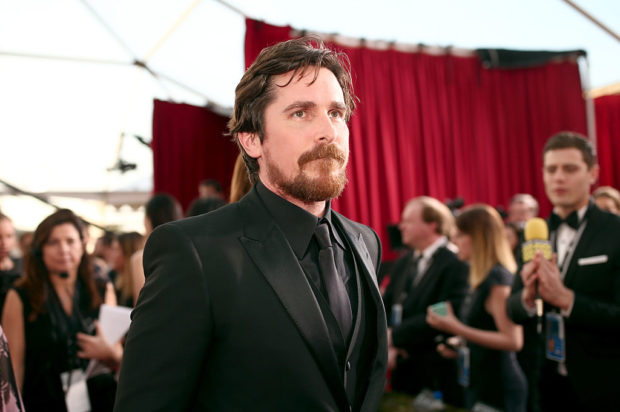 LOS ANGELES, CA - JANUARY 30: Actor Christian Bale attends The 22nd Annual Screen Actors Guild Awards at The Shrine Auditorium on January 30, 2016 in Los Angeles, California. 25650_018 (Photo by Christopher Polk/Getty Images for Turner)