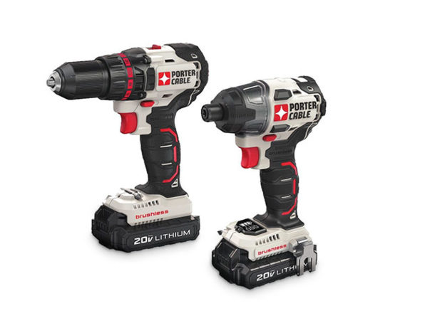 Normally $275, this drill and impact driver combo kit is 27 percent off