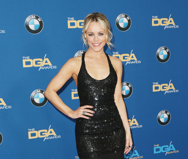 LOS ANGELES, CA - FEBRUARY 06: Actress Rachel McAdams attends the 68th Annual Directors Guild Of America Awards at the Hyatt Regency Century Plaza on February 6, 2016 in Los Angeles, California. (Photo by Frederick M. Brown/Getty Images)