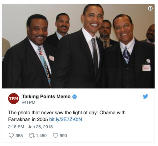 Image result for obama farrakhan images