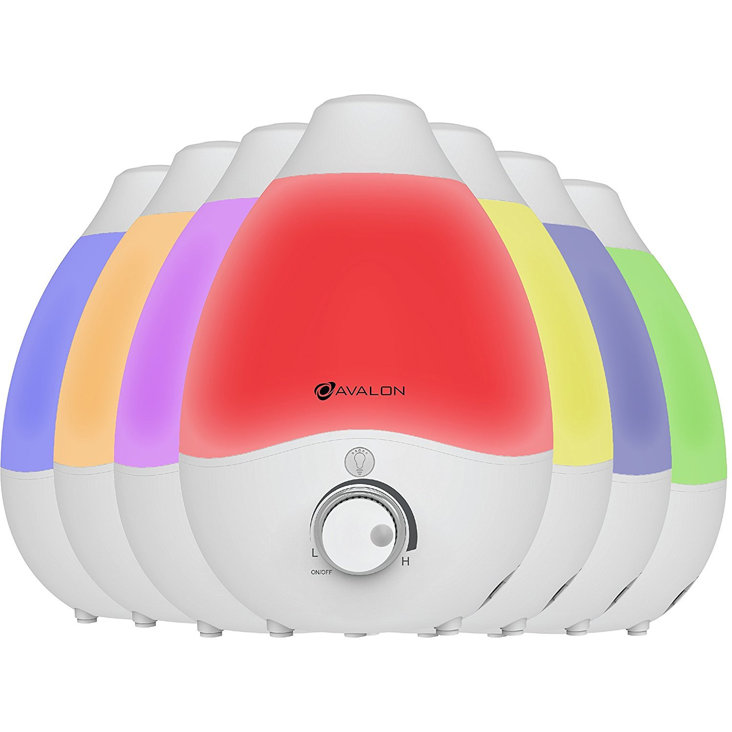 Normally $40, this humidifier is 25 percent off today (Photo via Amazon)