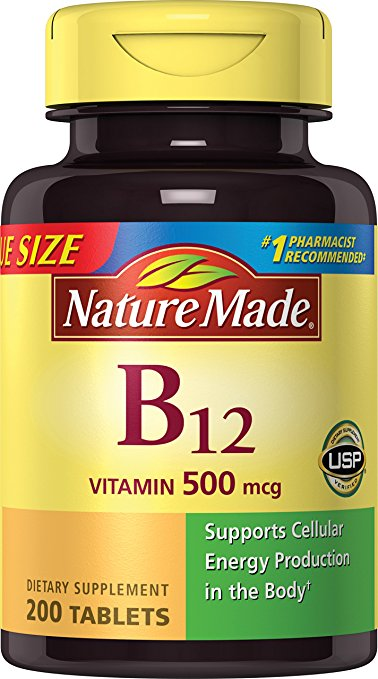 Normally $14, these B12 tablets are 42 percent off today (Photo via Amazon)