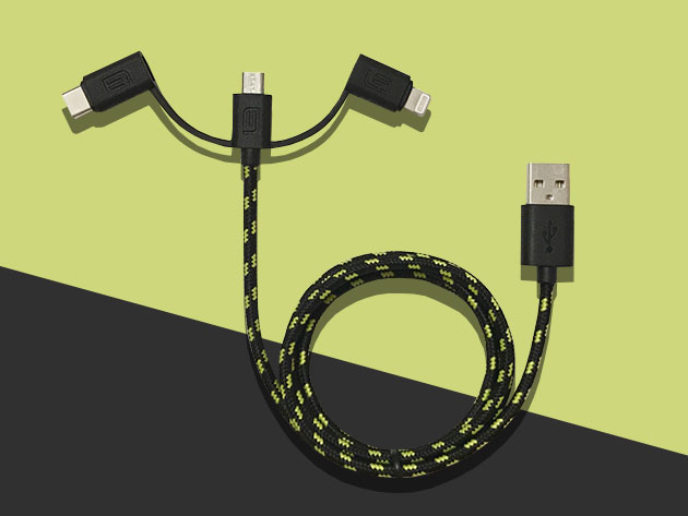 Normally $30, this 3-in-1 charging cable is 66 percent off