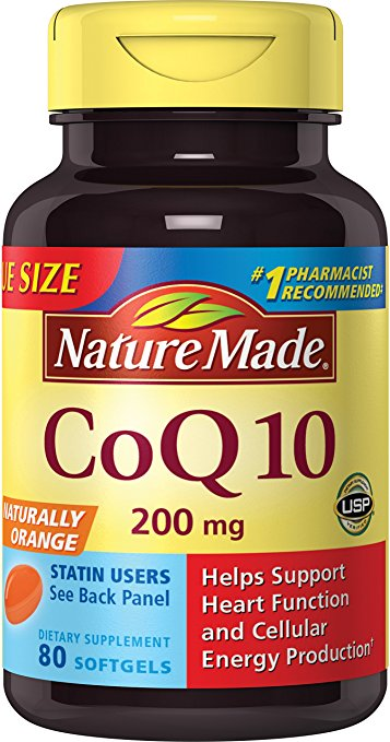 Normally $45, these CoQ10 tablets are 65 percent off today (Photo via Amazon)