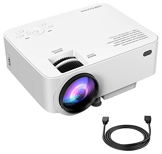 Normally $100, this #1 bestselling projector is 27 percent off with this code (Photo via Amazon)