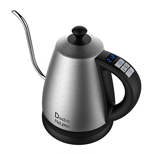 Normally $50, this electric kettle is 23 percent off with this code (Photo via Amazon)