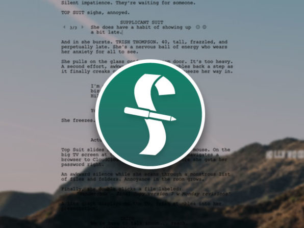 Normally $250, this screenwriting software is 50 percent off