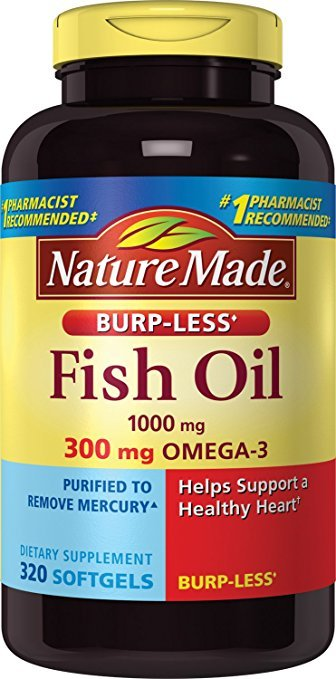 Normally $20, these fish oil supplements are 30 percent off today (Photo via Amazon)