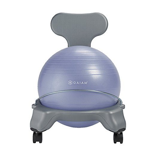 Normally $70, this kids' balance ball chair is 50 percent off today (Photo via Amazon)