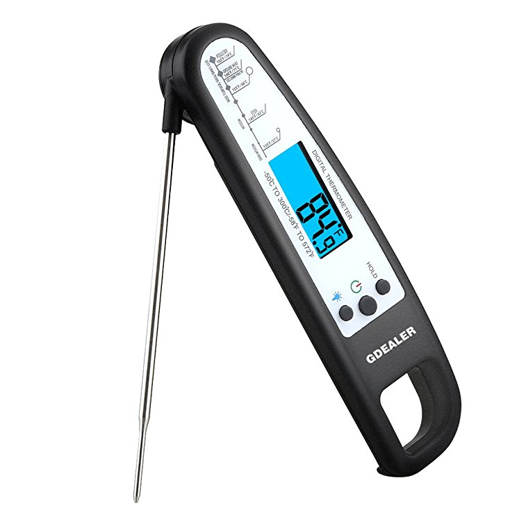 Normally $37, this meat thermometer is 73 percent off (Photo via Amazon)