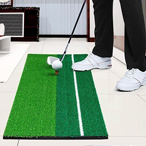 Normally $16, this golf hitting mat is 38 percent off with this code (Photo via Amazon)