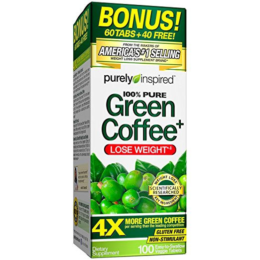 Normally $14, this green coffee weight loss supplement is 58 percent off today (Photo via Amazon)