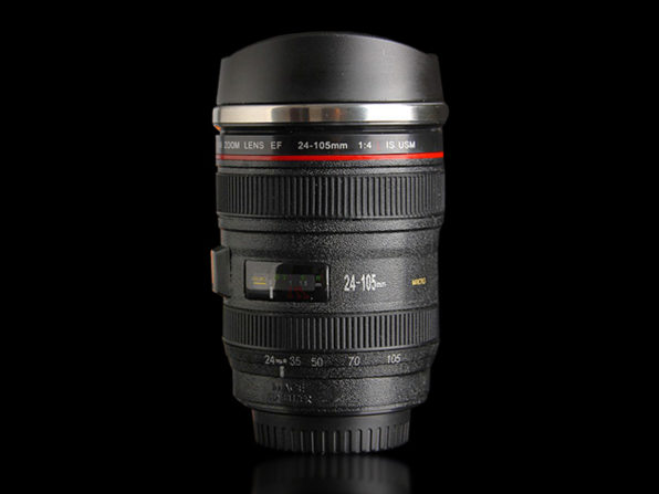 Normally $20, this camera lens mug is 35 percent off