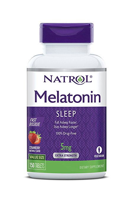 Normally 14, these melatonin sleeping tablets are 62 percent off today (Photo via Amazon)