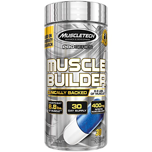 Normally $21, these muscle building pills are 32 percent off today (Photo via Amazon)