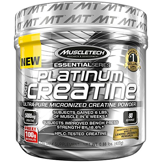 Normally $16, this creatine powder is 52 percent off today (Photo via Amazon)