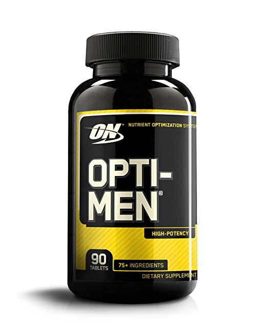 Normally $19, this men's multivitamin is 40 percent off today (Photo via Amazon)