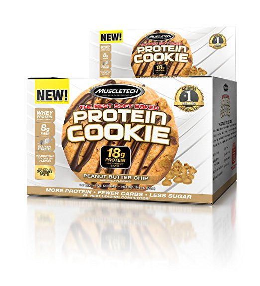 Normally $12, these whey protein cookies are 42 percent off today (Photo via Amazon)
