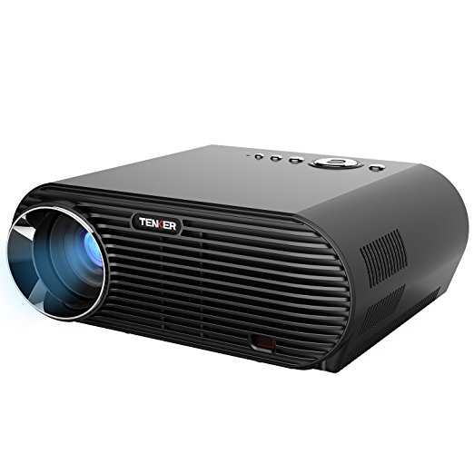 Normally $170, this projector is 29 percent off with this code (Photo via Amazon)