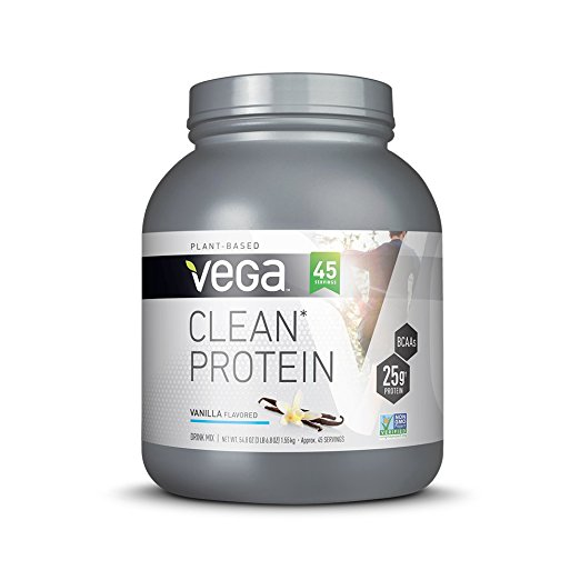 Normally $80, this vanilla protein powder is 54 percent off today (Photo via Amazon)