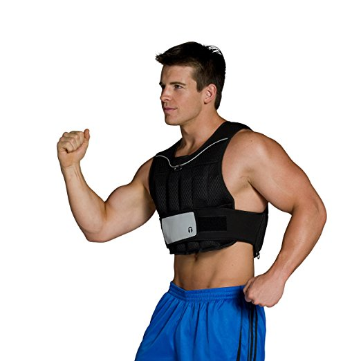 Normally $40, this weighted vest is 25 percent off today (Photo via Amazon)