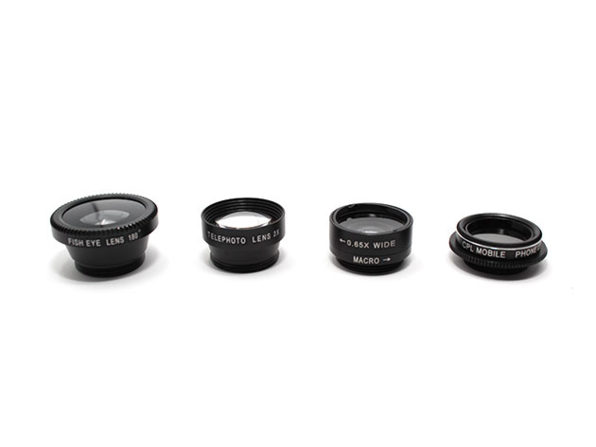 Normally $70, this 5-pack of camera lenses is 74 percent off