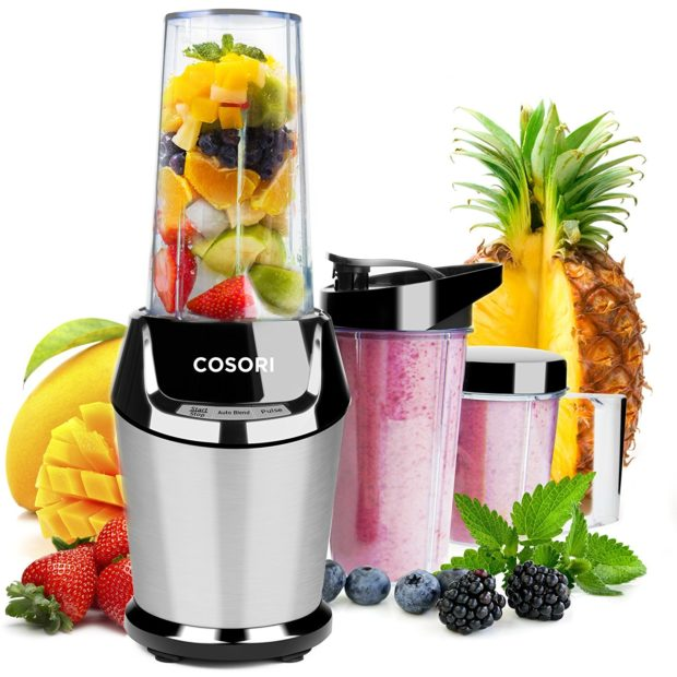 Having the ability to make your own smoothies any time you want would be pretty SWEET (Photo via Amazon)