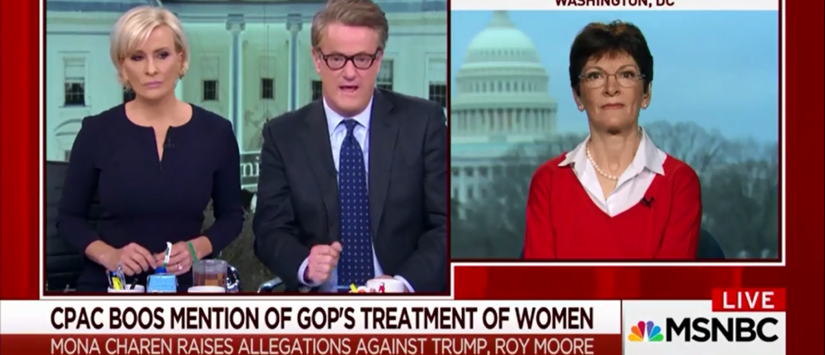 After Being Booed At CPAC Mona Cheron Receives Warm Welcome From MSNBC And  'Morning Joe