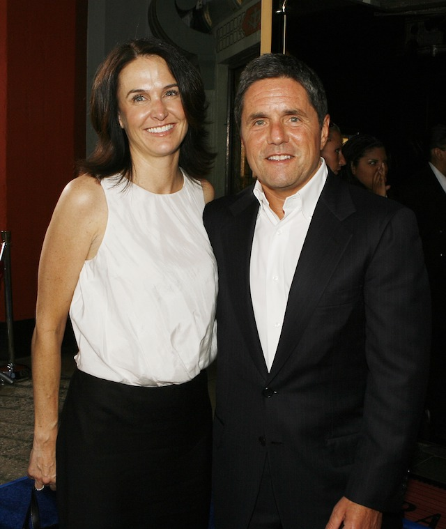 "LOS ANGELES - JULY 26: Exec. Prod. Jill Messick and Paramount's Brad Grey pose at the premiere of Paramount Picture's ""Hot Rod"" at the Chinese Theater on July 26, 2007 in Los Angeles, California. (Photo by Kevin Winter/Getty Images)"