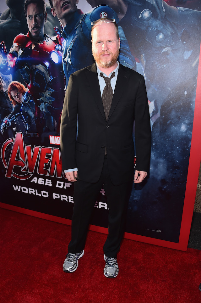 """HOLLYWOOD, CA - APRIL 13: Writer/director Joss Whedon attends the world premiere of Marvel's """"Avengers: Age Of Ultron"""" at the Dolby Theatre on April 13, 2015 in Hollywood, California. (Photo by Alberto E. Rodriguez/Getty Images for Disney)"""