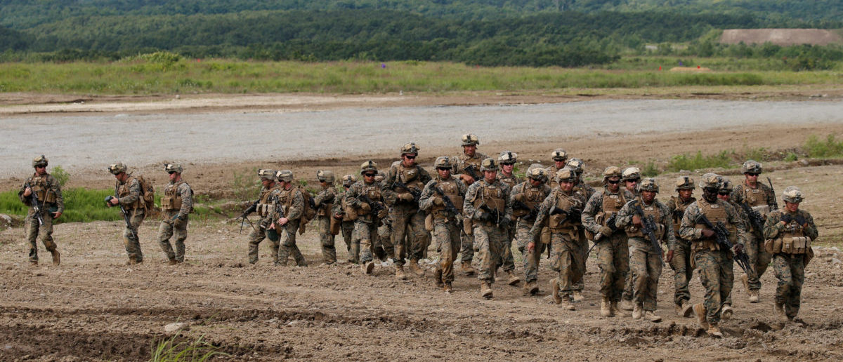 Marines ill after suspicious letter the daily caller us marine corps members take part in a joint exercise named northern viper 17 thecheapjerseys Choice Image