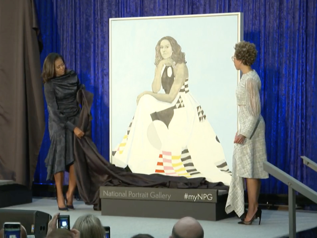 Michelle Obama Official Portrait Unveiled | The Daily Caller