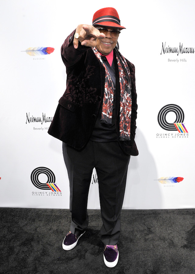 BEVERLY HILLS, CA - DECEMBER 16: Quincy Jones attends Buscemi x Quincy Exclusive Launch at Neiman Marcus Beverly Hills on December 16, 2017 in Beverly Hills, California. (Photo by John Sciulli/Getty Images for Neiman Marcus)