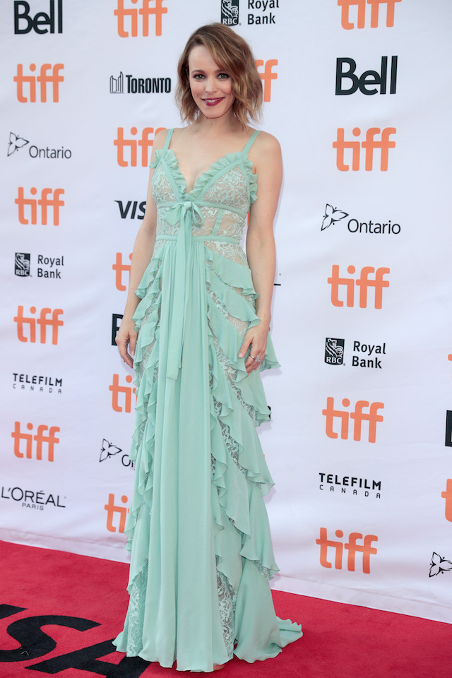 """TORONTO, ON - SEPTEMBER 10: Rachel McAdams attends the """"Disobedience"""" premiere during the 2017 Toronto International Film Festival at Princess of Wales Theatre on September 10, 2017 in Toronto, Canada. (Photo by Brian de Rivera Simon/Getty Images)"""