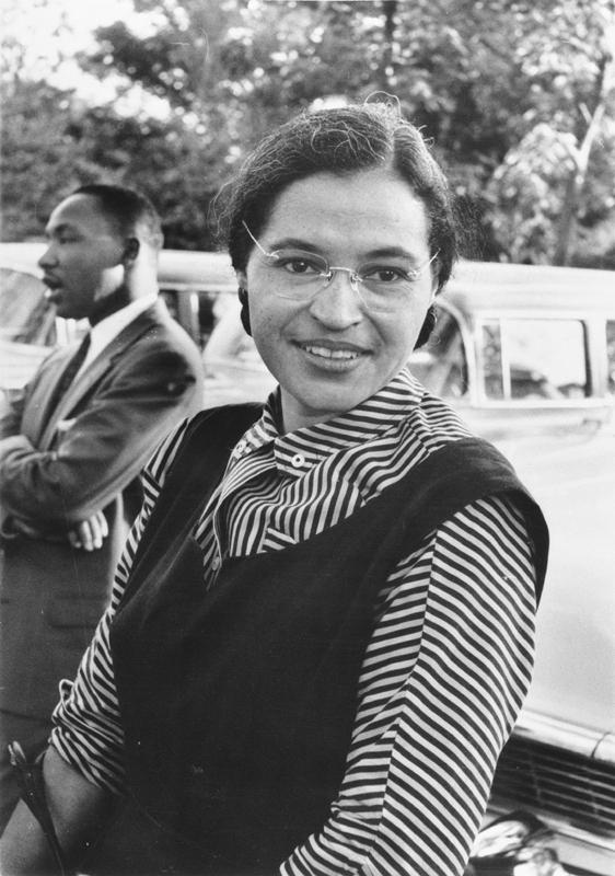 Rosa Parks/Public Domain/WikiMedia Commons