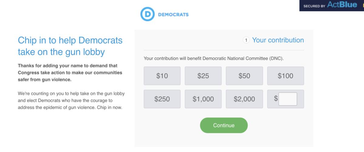 screenshot/my.democrats.org