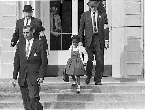 Ruby Bridges/Uncredited DOJ Photographer/WikiMedia Commons