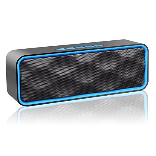Normally $100, this wireless bluetooth speaker is 85 percent off (Photo via Amazon)