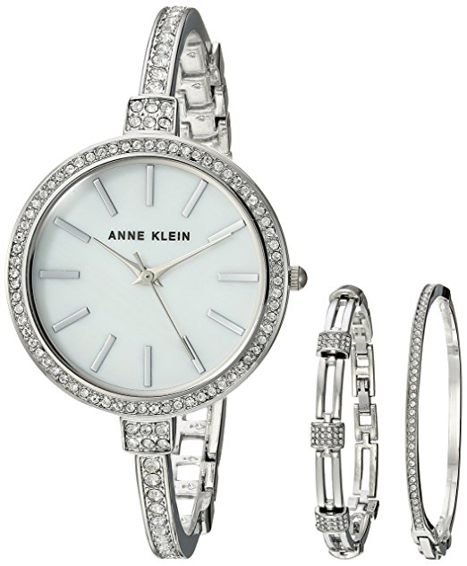 Normally $150, this Anne Klein women's watch set is 67 percent off today (Photo via Amazon)
