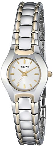 Normally $175, this Bulova women's watch is 63 percent off today (Photo via Amazon)