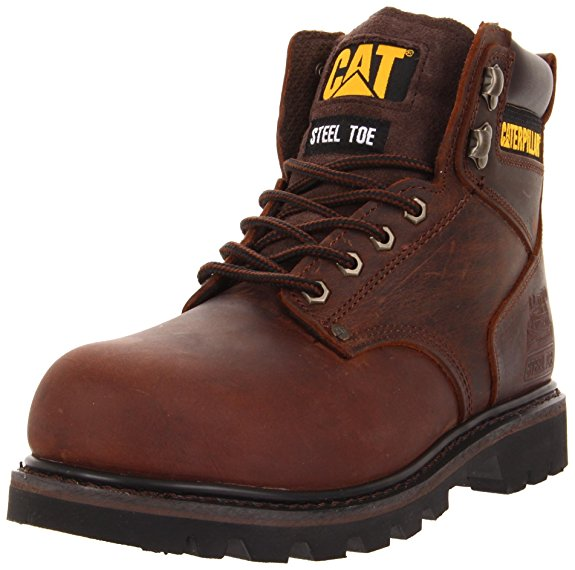 Normally $110, this steel-toe work boot is 49 percent off. It is available in both brown and honey colors (Photo via Amazon)